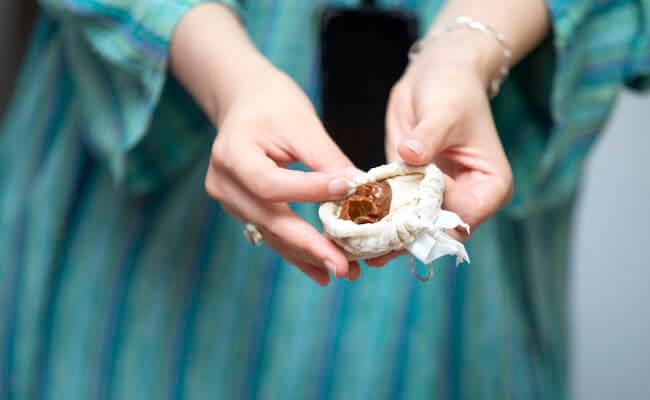 タオルなどのリネン類には「ソープナッツ」
