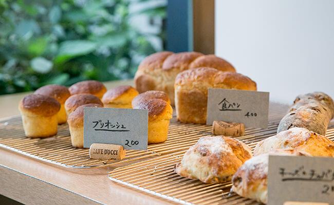 『Cise』のパンは通常のパンより水分量の多い高加水のパン