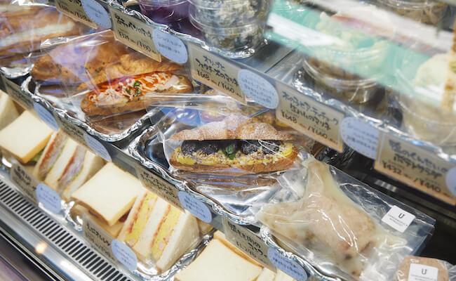 サンダンデリカのサンドイッチ