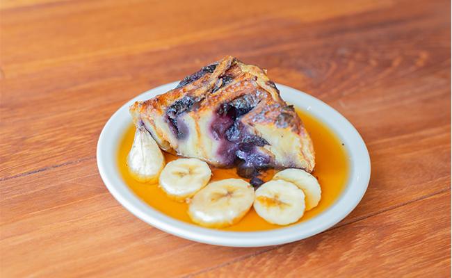 メープルの海!「Croissant Pudding」
